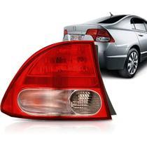 Lanterna Traseira New Civic 07 08 A 11 Bicolor AcrÍLico Le -