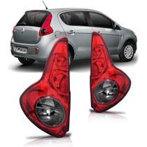Lanterna Traseira Palio G5 2012 A 2017 Fumê - Automotive Imports