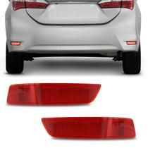 Lanterna Traseira Para-Choque Toyota Corolla 2014 2015 2016 Rubi Modelo Refletivo - Fitam