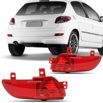 Lanterna Traseira Peugeot 207 2008 2009 2010 2012 2012 2013 Neblina Refletor Parachoque - Fitam