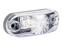 Lanterna Traseira Placa LED Bi-Volt com Cabo - Cristal - TWT