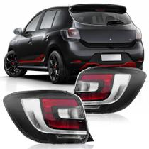 Lanterna Traseira Sandero 2015 A 2020 Fumê - Automotive Imports