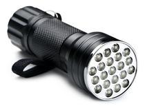 Lanterna Uv Ultra Violeta 9Leds Portatil p/ Camping, Nota falsa, Escorpião, secar cola - Expresso