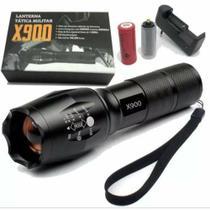 Lanterna x-900 Led Super Potente Recarregável -