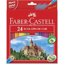 Lapis 24 cores sem kit - faber-castell -