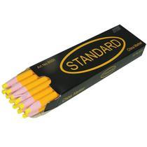 Lápis Amarelo Mágico Para Marcar Tecido - 12 Unidades - Standard