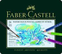 Lápis Aquarela Albrecht Dürer Estojo com 24 Cores Ref.117524 Faber-Castell - Faber Castell