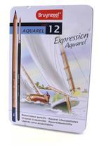 Lápis Aquarela Expression Aquarel Estojo com 12 cores Bruynzeel -