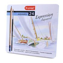 Lápis Aquarela Expression Aquarel Estojo com 24 cores Bruynzeel -