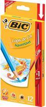 Lapis aquarelavel 12 pcs + 1pincel bic 9307492 - Faber Castell
