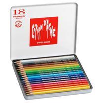 Lápis Aquarelável Caran dAche Prismalo 18 cores -