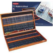 Lapis Aquarelavel Derwent Watercolour C/72 Cores Est. de Mad -