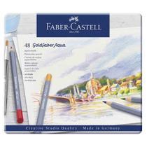 Lapis Aquarelavel Goldfaber Aqua Faber Castell 48 Cores -