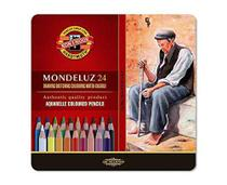 Lápis Aquarelável Mondeluz 24 Cores 3724 - Koh-I-Noor
