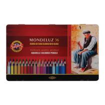 Lapis Aquarelavel Mondeluz 36 cores Koh-I-Noor -
