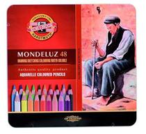 Lápis Aquarelável Mondeluz 48 Cores 3726 - Koh-I-Noor