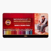 Lapis Aquarelavel Mondeluz 72 cores Koh-I-Noor -