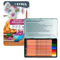 Lápis Aquarelável Rembradt Lyra com 12 Cores - 2011120 -