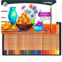 Lápis Aquarelável Rembradt Lyra com 36 Cores - 2011360 -