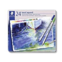Lapis Aquarelavel Staedtler Karat 24 Cores -