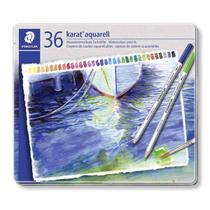 Lapis Aquarelavel Staedtler Karat 36 Cores -