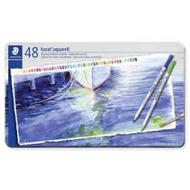 Lapis Aquarelavel Staedtler Karat 48 Cores -