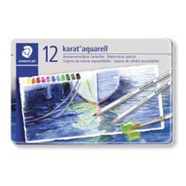 Lápis Aquarelável Staedtler Karat Estojo com 12  125 M122 -