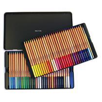 Lápis Aquarell Aquarelável Artools  Estojo Metálico com 60 cores  688848 -
