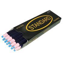 Lápis Azul Mágico Para Marcar Tecido - 12 Unidades - Standard