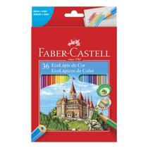 Lapis cor 36 cores ecolapis 120136 faber castell - Faber-Castell