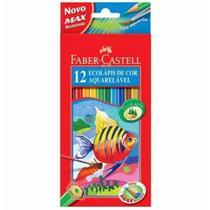 Lapis cor inteiro c/12 cores aquarela 120212/g / 6un / faber -