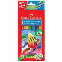 Lapis cor inteiro c/12 cores aquarela 120212 / un / faber -