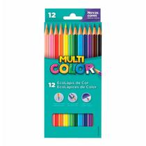 Lapis cor inteiro c/12 cores super 111200n  / 12est / multicolor -
