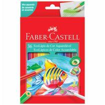 Lapis cor inteiro c/36 cores aquarela 120236g / un / faber -
