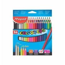 Lapis cor inteiro c/36 cores  un / maped -