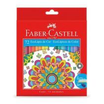 Lapis Cor Sextavado 72 Cores Ecolapis Faber Castell -