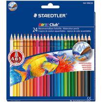 Lápis cor staedtler noris club aquarelável 24 cores -