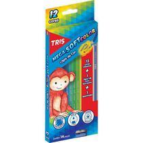 Lápis de Cor 12 Cores 1 Apontador 1 Lápis HB Soft Color - SUMMIT