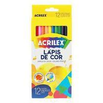 Lápis de Cor 12 cores Acrilex -