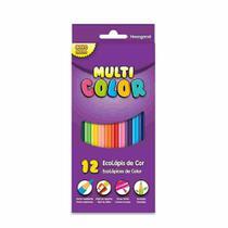 Lapis De Cor 12 Cores Ecolapis Super Multicolor -