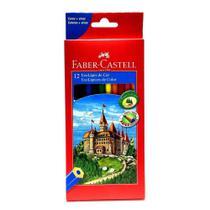 Lapis de cor 12 cores faber castell -