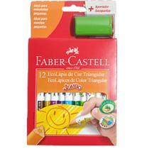 Lapis de Cor 12 Cores Jumbo - Faber - Faber Castell