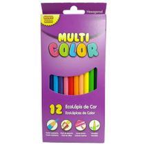 Lapis De Cor 12 Cores Longo Multicolor - Faber Castell