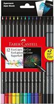 Lapis de cor 12 cores super soft faber castell - Faber-Castell