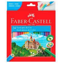 Lápis de cor 24 cores - 120124 - Faber-Castell -