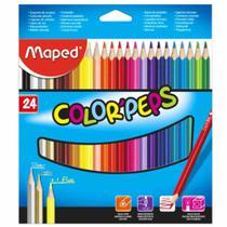 Lápis de Cor 24 Cores Color Peps Maped -