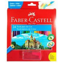 Lápis de Cor 24 Cores - Faber-Castell -