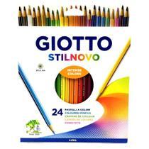 Lapis de cor 24 cores giotto stilnovo -