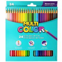 Lápis de Cor 24 Cores Multicolor -