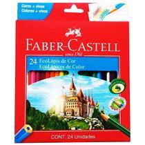 Lápis De Cor 24 Cores Quality - 120124 - Faber Castell - Faber-Castell